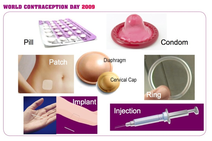 Different contraceptive methods part 1